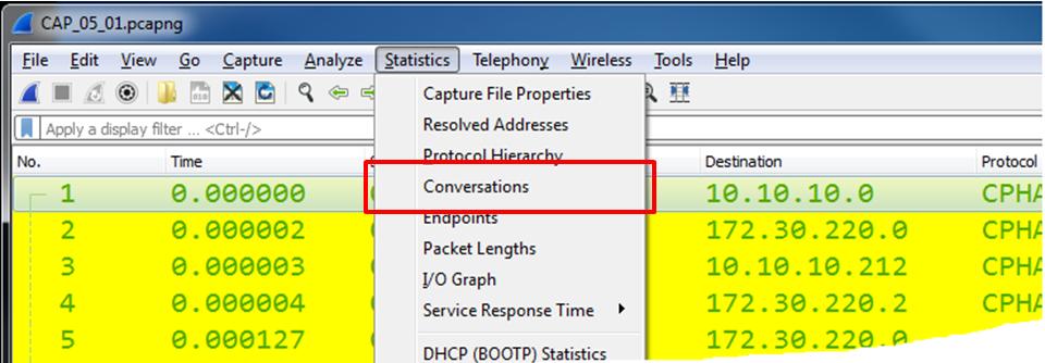 wireshark packet analysis tutorial