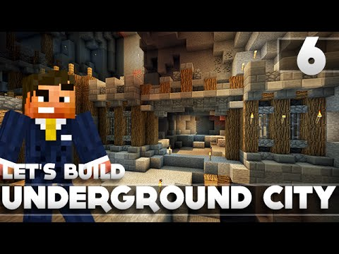 minecraft underground base tutorial