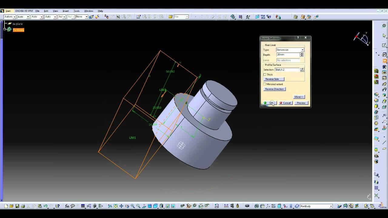 catia v4 tutorial pdf