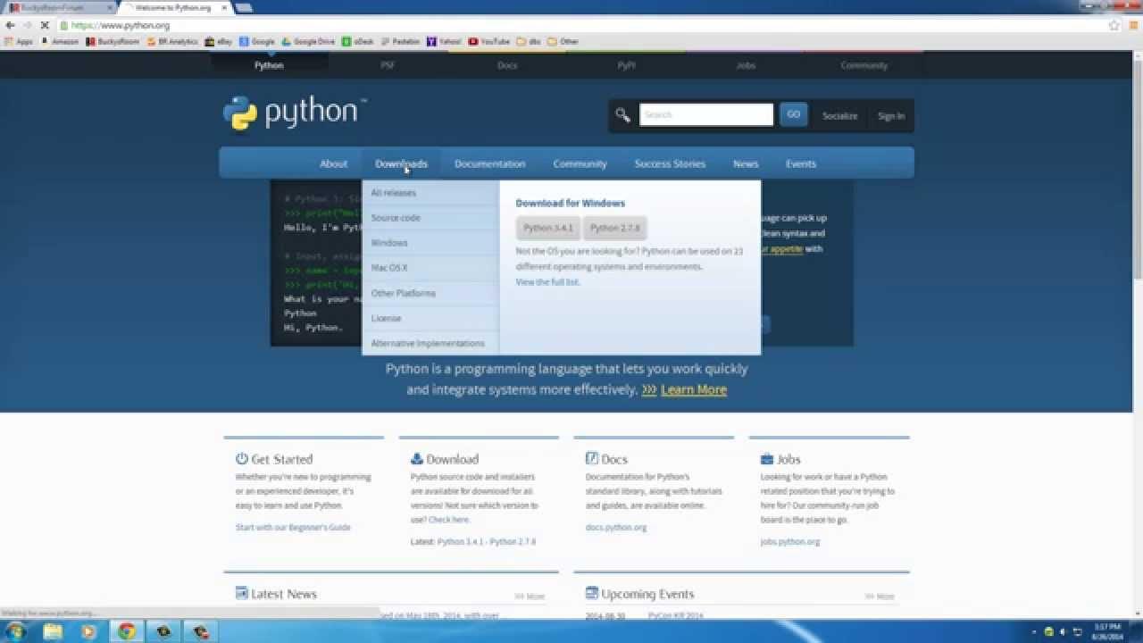 basic python tutorial 1