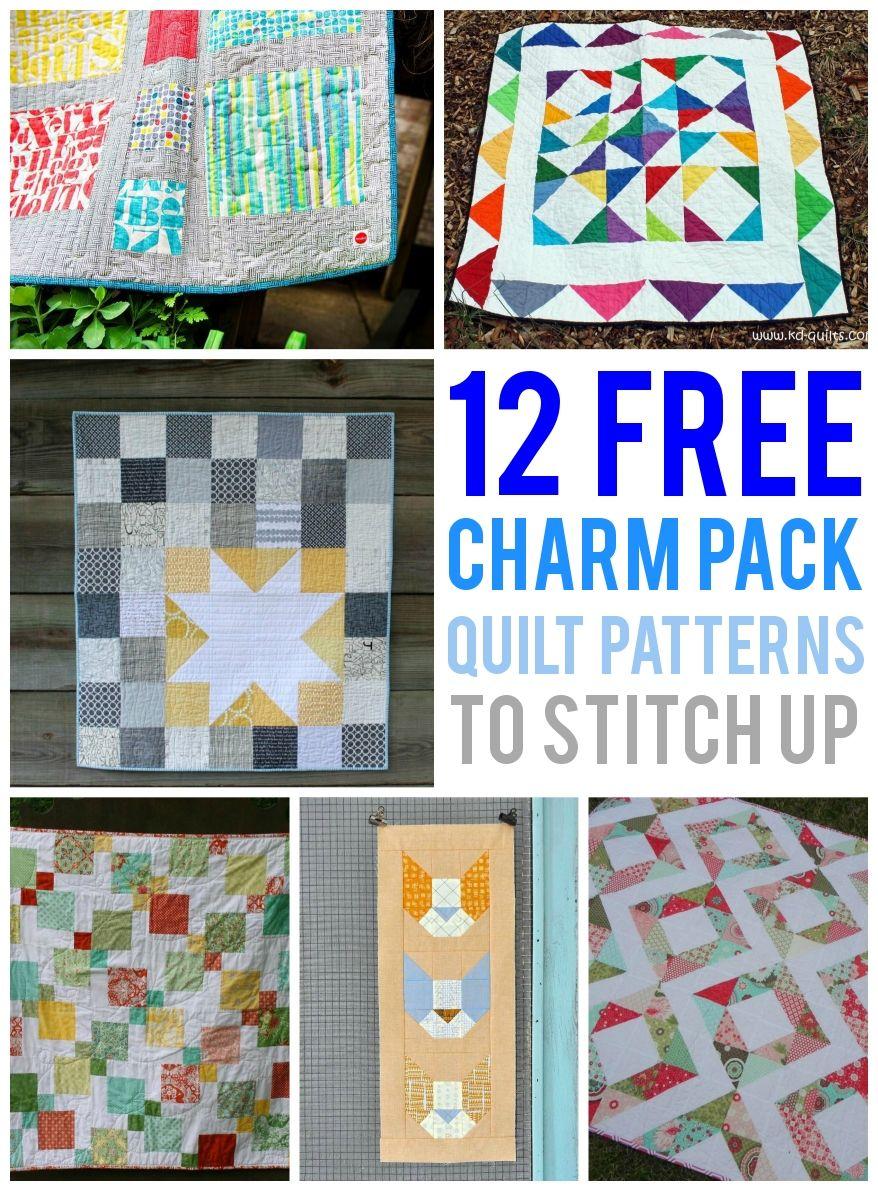 mini charm pack tutorial
