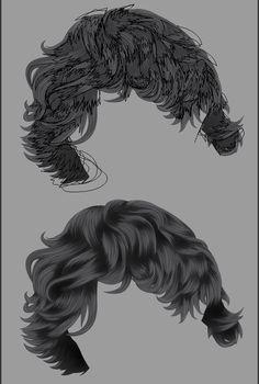 vector hair tutorial illustrator