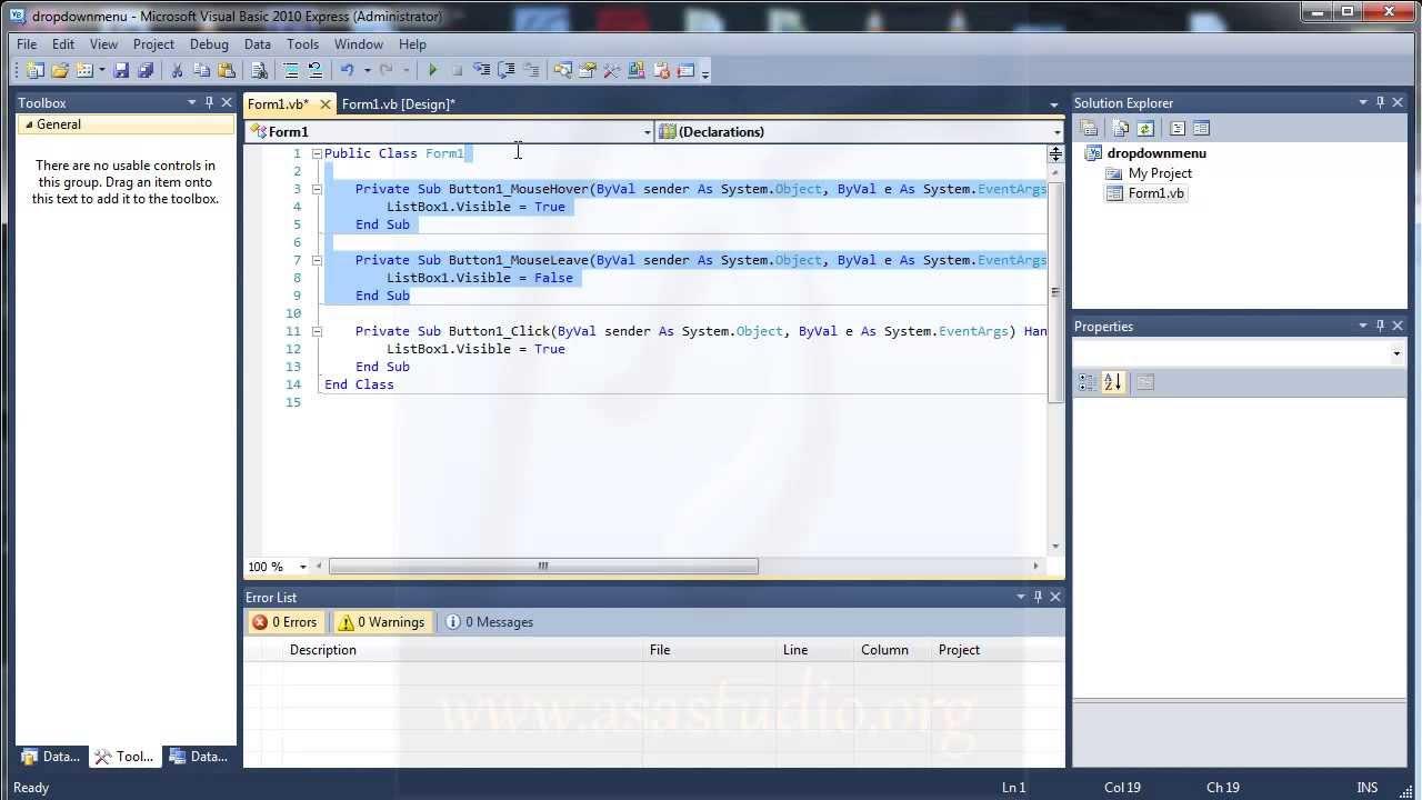 vb net 2010 tutorial pdf