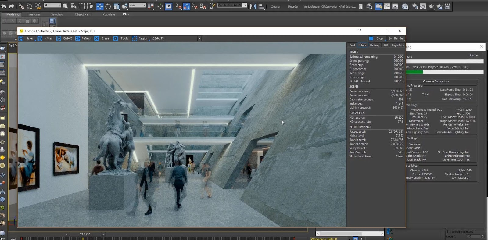 archviz post production tutorial
