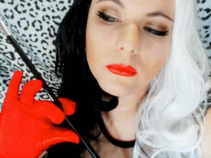 cruella de vil hair tutorial
