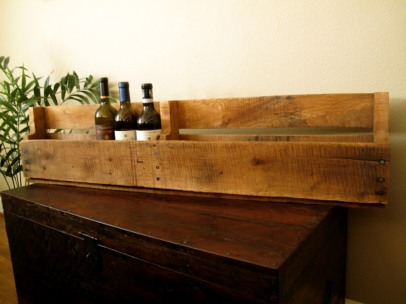 pallet wine rack tutorial