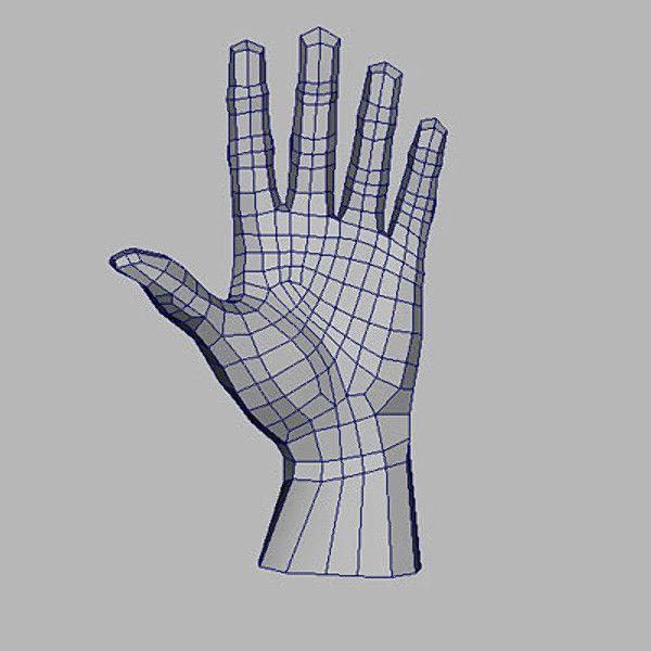 3d hand modeling tutorial