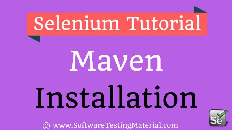 selenium website testing tutorial