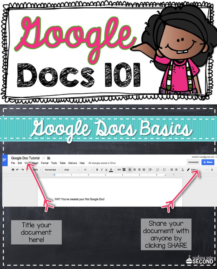 google docs tutorial for students