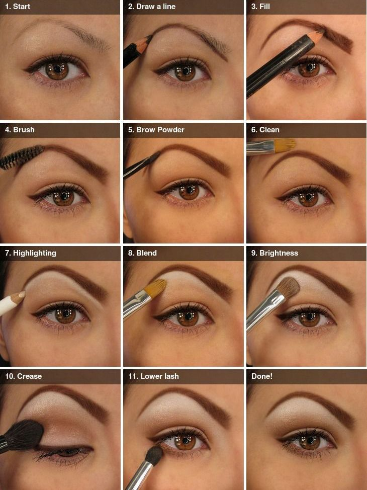 natural eyeshadow tutorial step by step