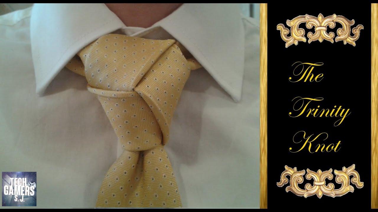 trinity tie knot tutorial