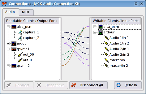 jack audio connection kit tutorial