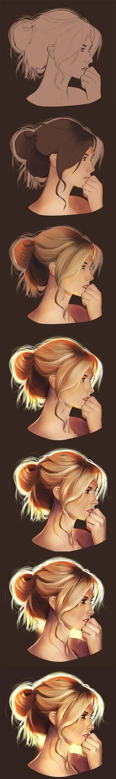 digital face painting photoshop tutorial