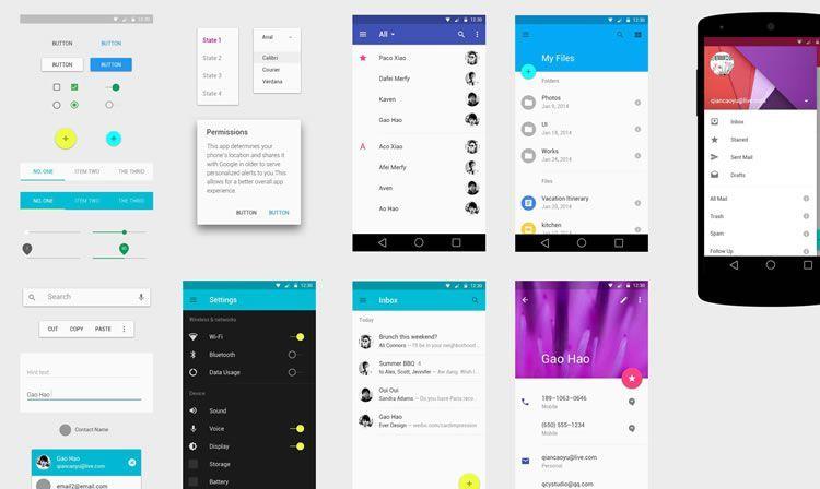 android ui design tutorial android studio