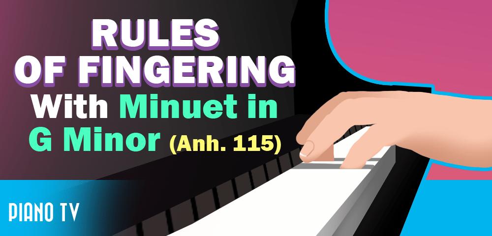 minuet in g major piano tutorial