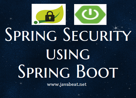 spring boot security tutorial
