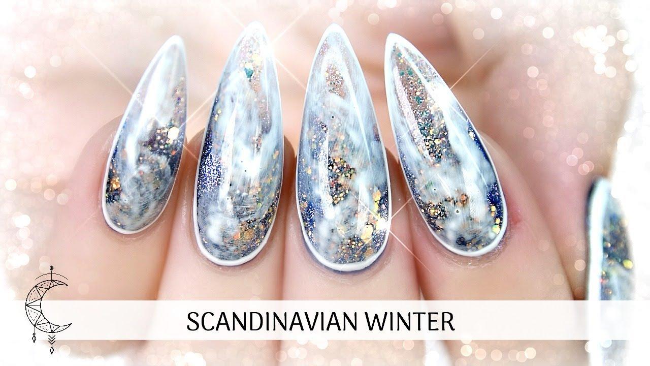 gel nail extension tutorial