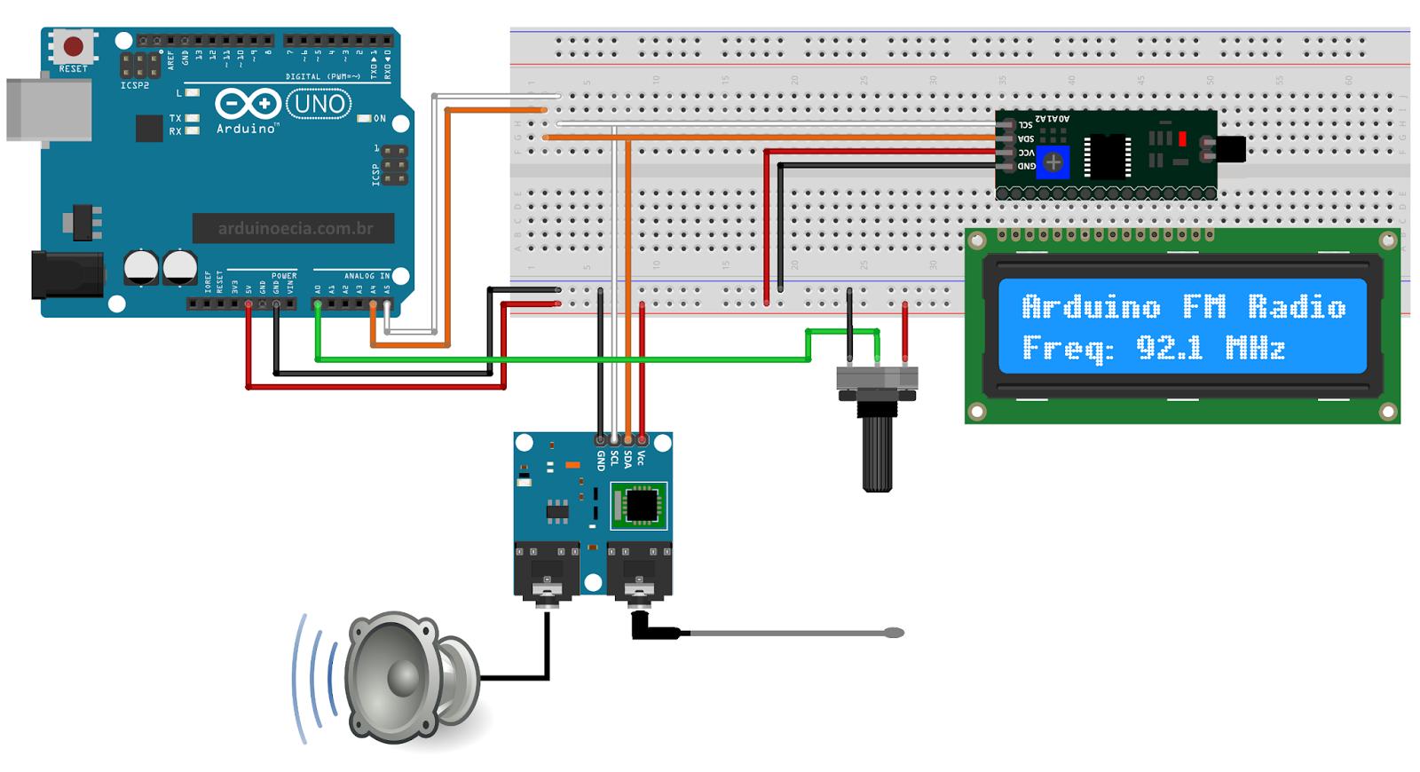 lcd i2c arduino tutorial