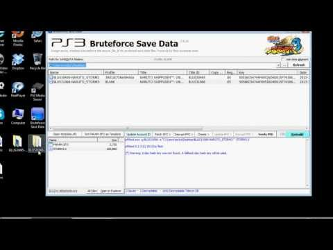ps3 save resigner tutorial