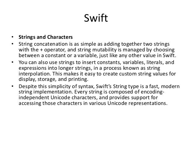 ios tutorial swift 3