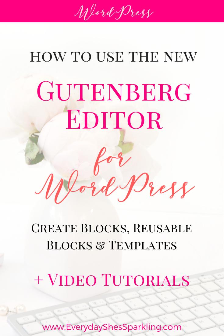 wordpress blog tutorial video