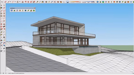 sketchup modern house tutorial
