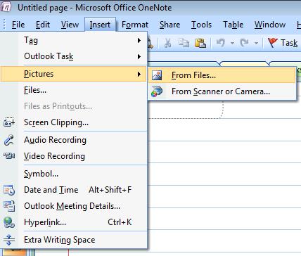 microsoft onenote 2007 tutorial