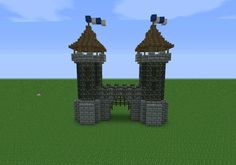 minecraft medieval tower tutorial