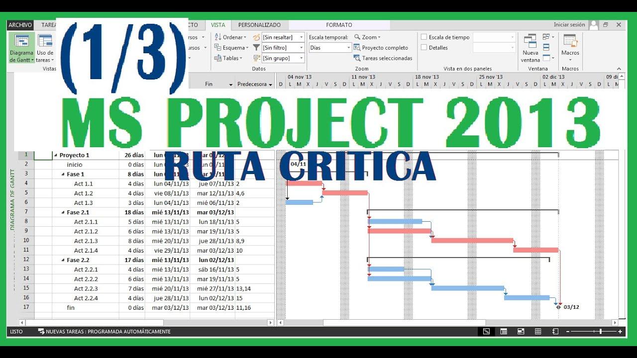 ms project 2013 tutorial pdf