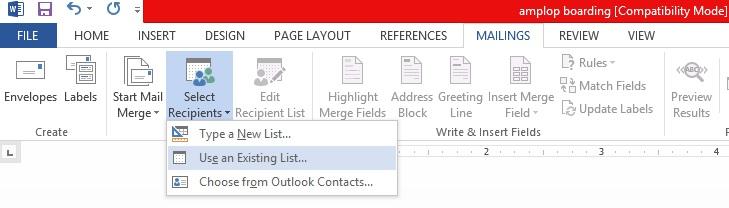mail merge tutorial 2010