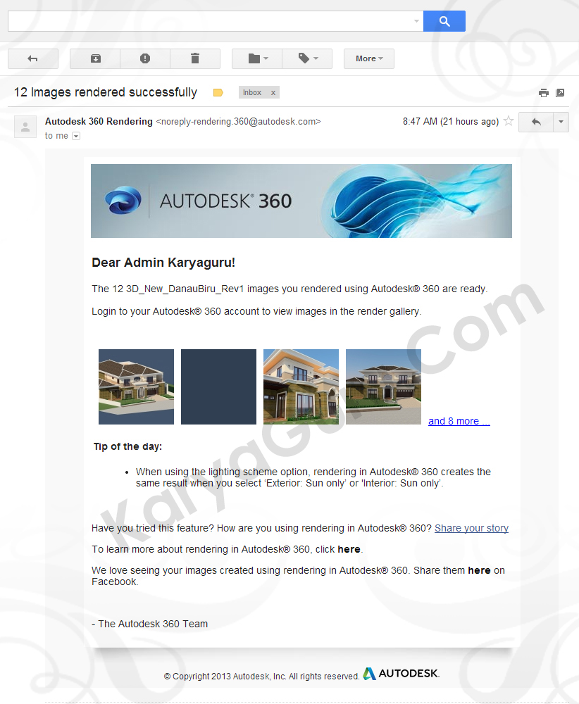 autocad rendering tutorial pdf