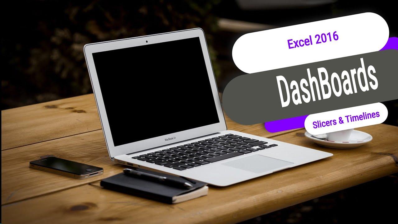 excel dashboard tutorial youtube