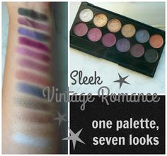 sleek vintage romance tutorial