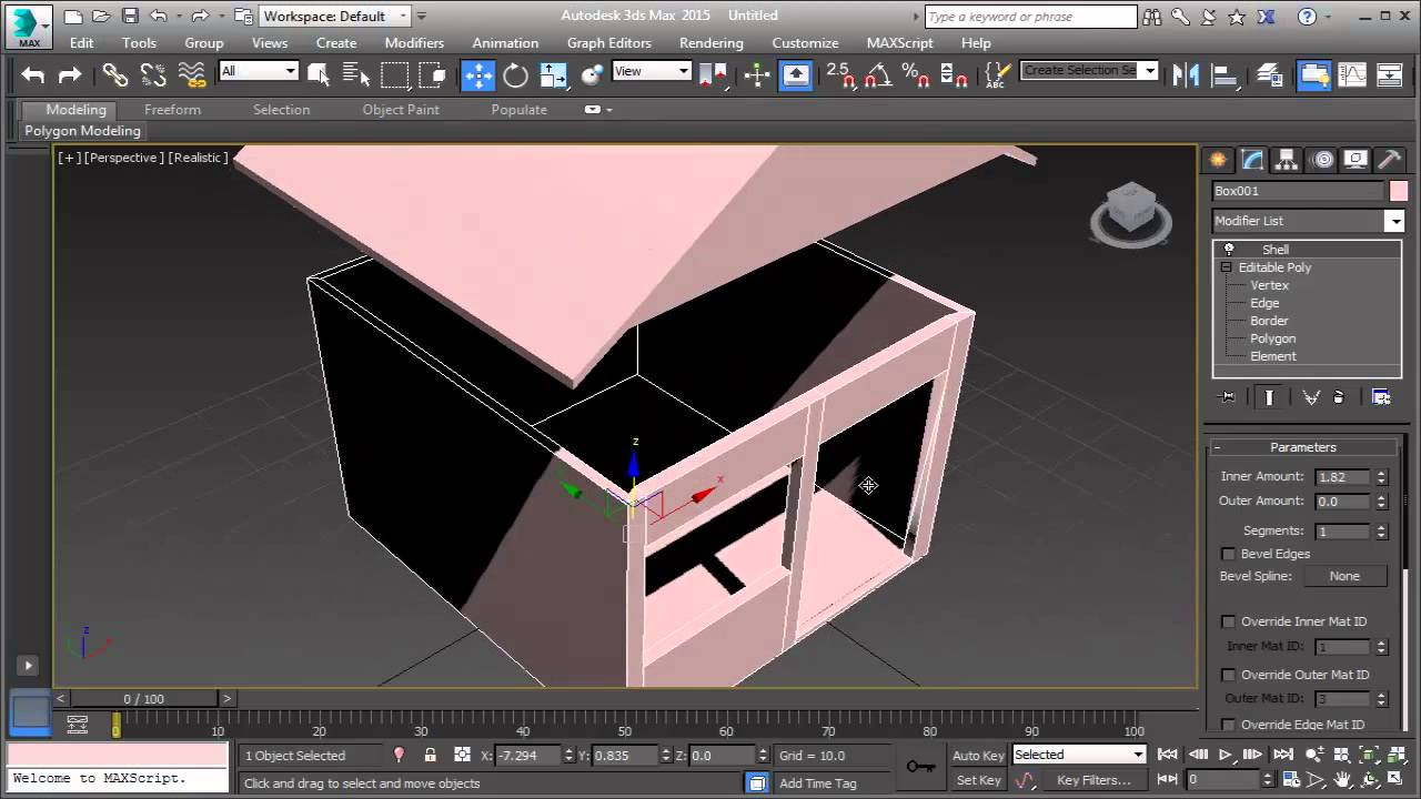 3ds max house tutorial