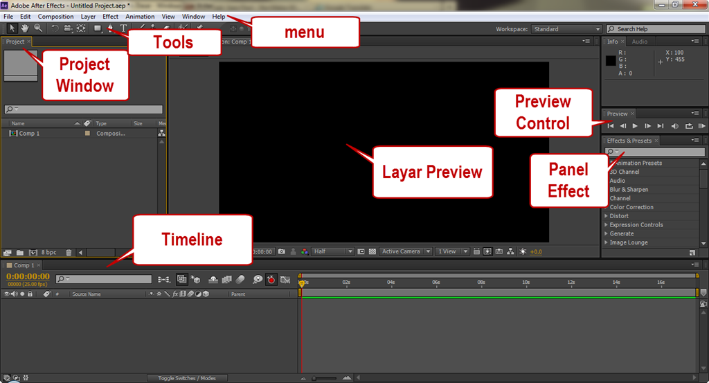 tutorial opening after effect