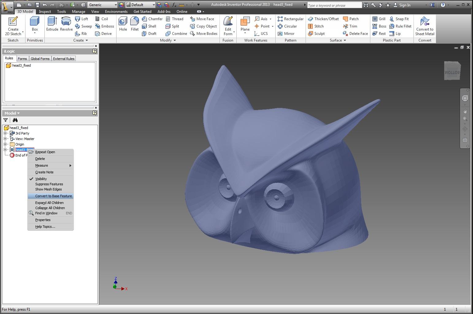 autodesk inventor tutorial files