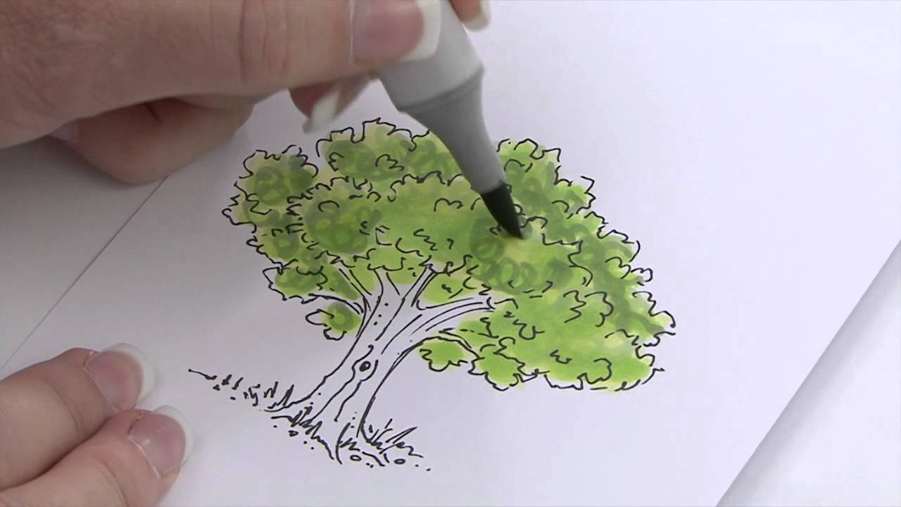 how to use copic markers tutorial