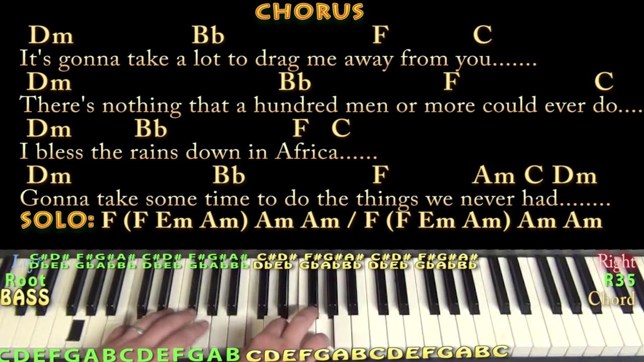 toto africa piano tutorial