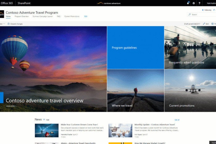 sharepoint team site tutorial