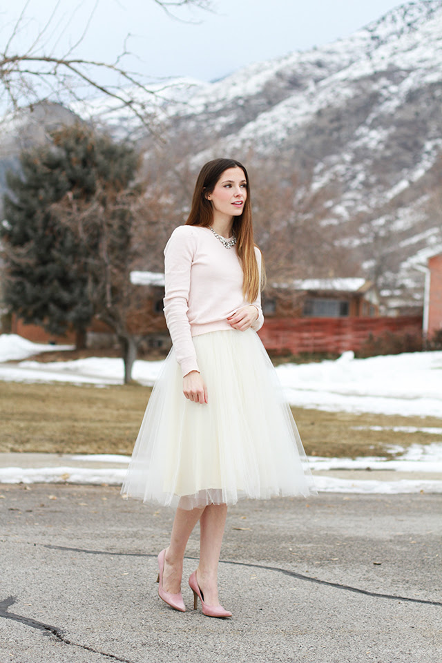 easy tulle skirt tutorial