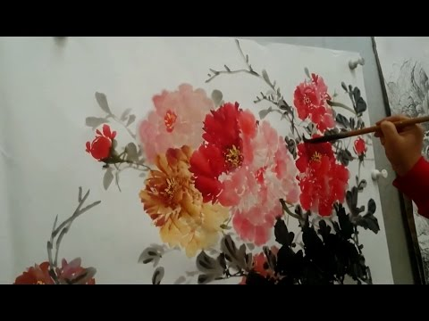 chinese brush painting tutorial