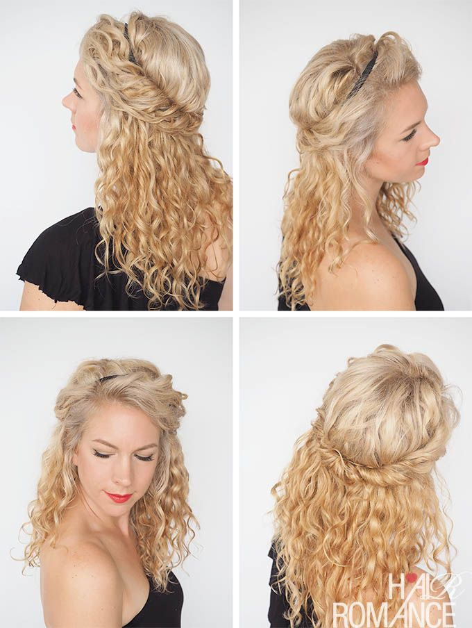 curly hair tutorial tumblr