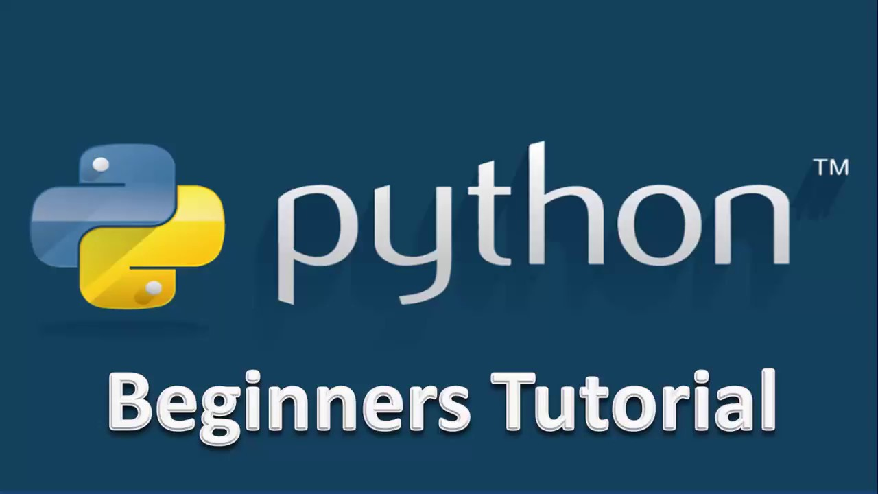 python programming for beginners tutorial
