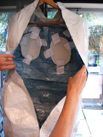 duct tape mannequin tutorial