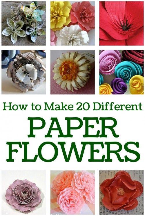 paper flower bouquet tutorial