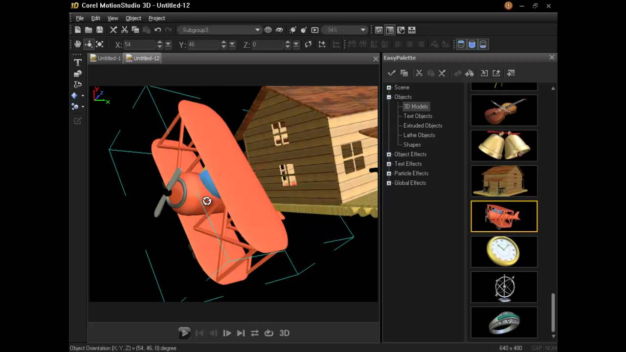 corel motion studio 3d tutorial