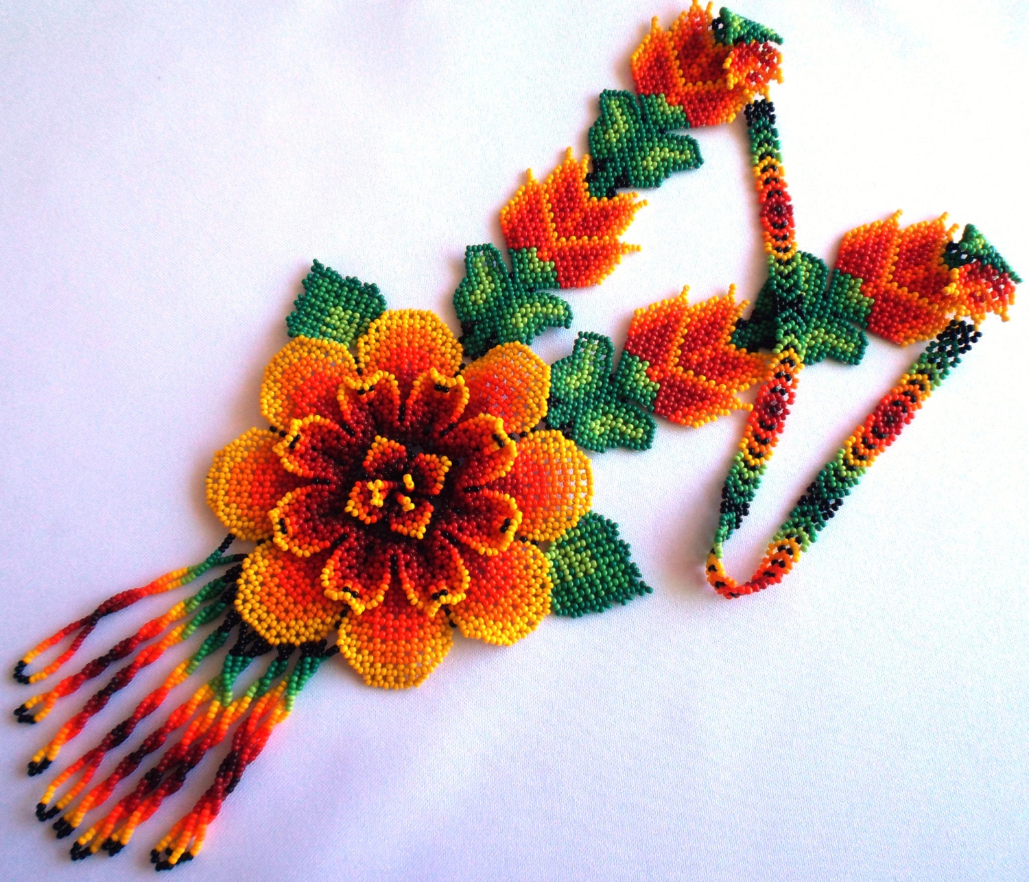 huichol bead art tutorial