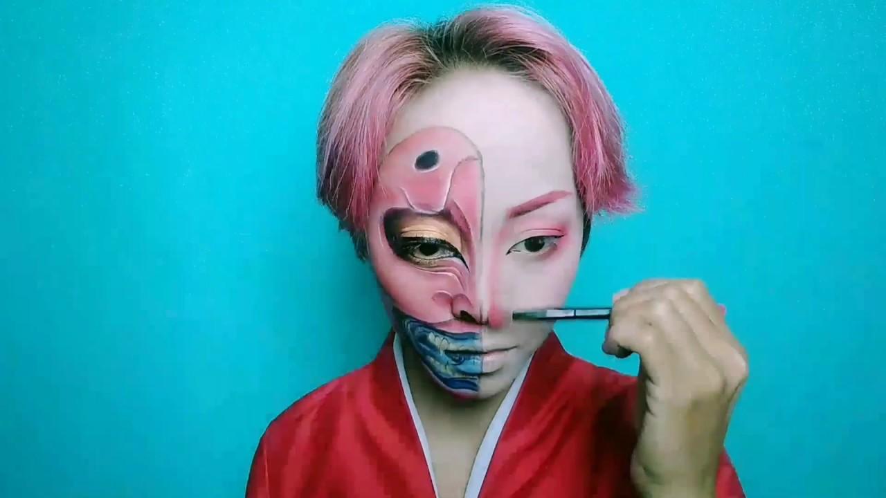 japanese geisha makeup tutorial