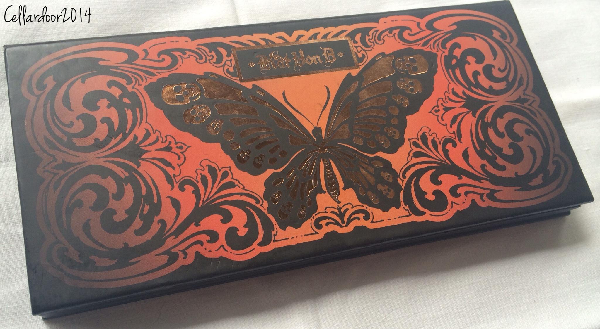 kat von d monarch palette tutorial