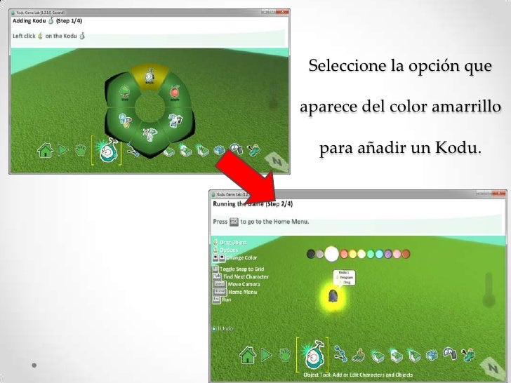 kodu game lab tutorial